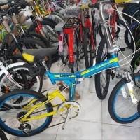 Jual Sepeda Lipat Suspensi Murah Harga Terbaru 2020