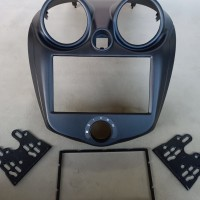 frame datsun go-frame double din head unit datsun go