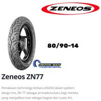 Ban Tubles ZENEOS ZN 77 80/90-14