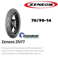 Ban Tubles ZENEOS ZN 77 70/90-14