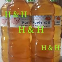 Minyak Babi / Pork Oil ( 600 ml )