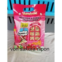 Hamsfood hamster & gerbil food makanam hamster 1KG .