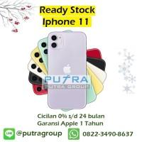 (DUAL SIM) iPhone 256GB / 256 11 - Black Green White Yellow Purple Red - Green