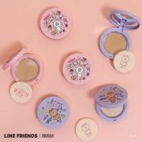 Line Friends x Mille Compact Powder