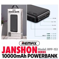 Remax JANSHON Series Powerbank 10000mAh Power Bank 10000 mAh RPP-153