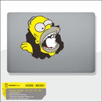Decal Macbook Sticker / Sticker Laptop Simpson
