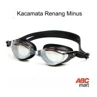 Kacamata Renang Minus III - Adult Myopia Optical Swim Goggles - BLACK