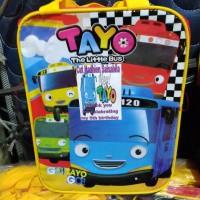 Goodie bag ultah /tas tenteng anak plus Sticker Custom