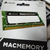 CORSAIR APPLE MAC (1x4) 4 GB (1x4) 4GB 1066MHZ MACBOOK PRO IMAC MEMORY