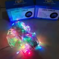 Lampu Hias LED 10M Lampu Tumbler LED 10 M Lampu Natal Rainbow