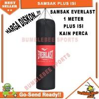 Samsak Plus Isi Sansak Muay Thai 1 Meter - Beladiri Tinju Muaythai MMA