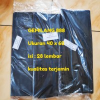 Trash Bag uk. 40x60 , Plastik Sampah, Kantong Sampah, polibag, Polybag
