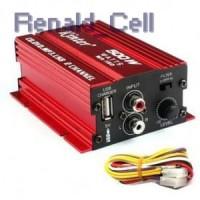 Kinter Amplifier Speaker 2 channel 500W MA150 Red
