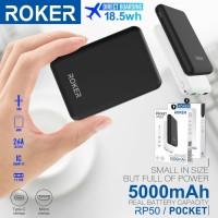 Powerbank Roker Rp50/Pocket 5000Mah