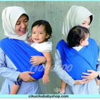Hanaroo Simple Wrap / gendongan bayi lucu