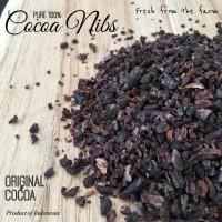 Cocoa Nibs 100gr - Biji cokelat Murni - Pure Cocoa