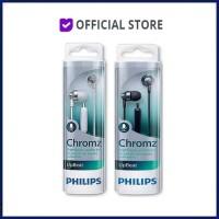 Philips SHE3855 Stereo Earphone with Mic Headset Headphone SHE 3855