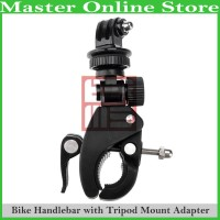 Bike Bicycle Motorcycle Handle Bar Tripod Mount Adapter Action Cam