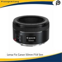 Lensa Fix Canon 50mm F/1.8 STM New Original