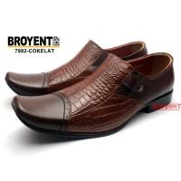 Sepatu Pantofel Pria Kulit Sapi Asli 7982