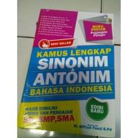 SH-540 KAMUS LENGKAP SINONIM&ANTONIM BAHASA INDONESIA