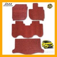 Prestige Karpet Mobil Premium Honda Jazz 2019 Full Bagasi Coil Mat