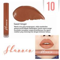 Creamy Lip Paint Shannen 10 Sweet Ginger
