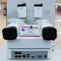 PAKET CCTV NVR KIT UNIVIEW 4CH 2MP 1080P FULL HD GARANSI RESMI 1TAHUN
