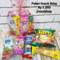 Paket Snack Ulang Tahun/ Paket Snack 5.000/ Souvenir Bday