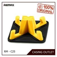 Remax Car Phone Holder RM-C25 Pyramid Series - Kuning