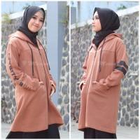 Jaket Mecink Oktanta Original L XL XXL | Jaket Hijab Wanita Muslimah