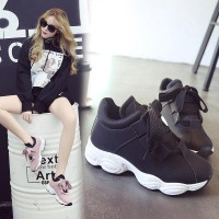 Laris - Women Wide Lace Casual Shoes Running Shoes