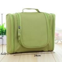 Grosir Travel Toiletries Bag / Cosmetic Organizer - Biru Langit