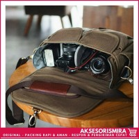 Dijual Tas Kamera Dslr Satchel Ninenine Vintage Fashionable Termurah