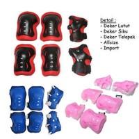 DEKER INLINE Pelindung Lutut Sikut Sepatu Roda Sepeda Olahraga Anak