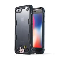 Case iPhone 6 / 6s / 7 / 8 ( Plus ) Ringke Fusion X Super Grade Casing - Hitam, Non Plus