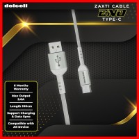 Delcell Kabel Zaxti ENO Type C Charger and Data 2A Fast Charger
