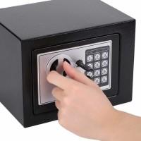 Brankas Mini Electric Password Safe Deposit Box 4.6L - 17E