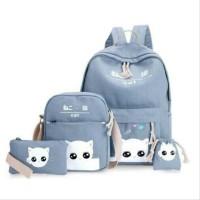 Promo!! Paket Tas Anak Murah Baby Cat 4in1/Terlaris/Grosir Tas