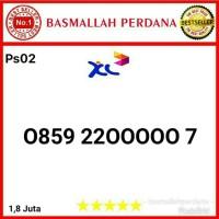 Nomor Cantik XL Seri Panca 00000 0859 22 00000 7 ps02r9