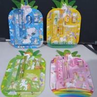 Paket alat tulis/stationery set unicorn book/souvenir ulang tahun anak