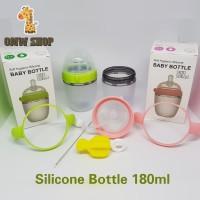 OMWshop Botol Susu Silicone Piko Bello 180ml Single Pack Pink / Green