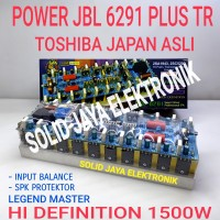 KIT POWER JBL 6291 JBL-6291 JBL6291 AMPLIFIER 1500W LEGEND MASTER