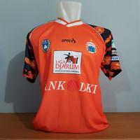 Jersey Persija Jakarta Retro clasic Tahun 2006 - Orange