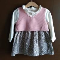 Baju bayi dress baby import Korean Style buat pesta/kado