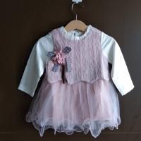 Baju bayi dress baby Korean Style import buat pesta kado