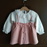 Baju bayi dress baby import untuk pesta kado