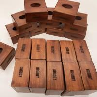 [Engraved] Walnut Tissue Box / Kotak Tisu Kayu / Tempat Tisu + Grafir
