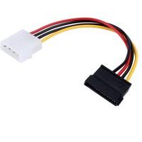 Kabel Konverter Molex to Power SATA Female Output Single