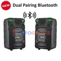 Speaker Bluetooth Portable GMC 897M 8 inch Karaoke